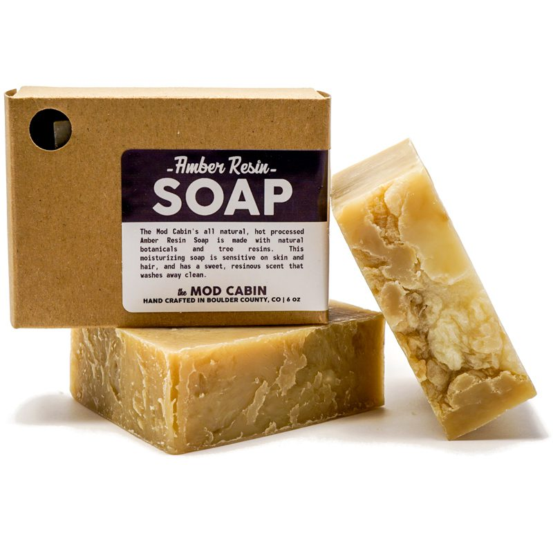 Amber Resin Soap The Mod Cabin