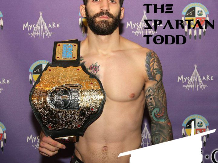 """Kyle """"The Spartan"""" Todd talks MMA, Beard Balm and Future Plans with The Mod Cabin"""