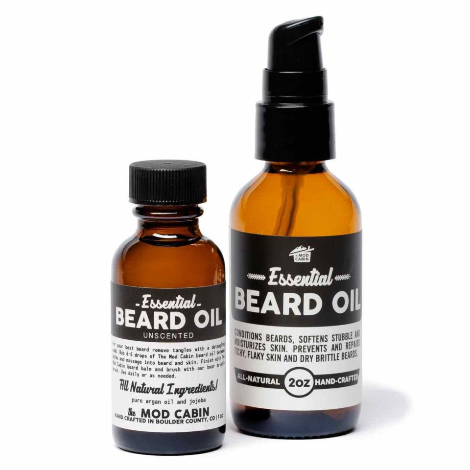 Unscented Essential Beard Oil by The Mod Cabin